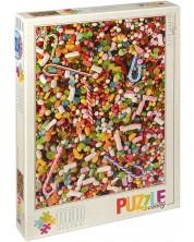 Puzzle D-Toys de 1000 piese – Dulciuri