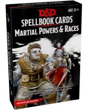 Completare pentru jocul de rol Dungeons & Dragons - Spellbook Cards: Martial Powers & Races