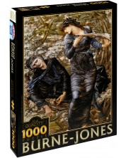Puzzle D-Toys de 1000 piese – Merlin inselat, Eduard Burne-Jones