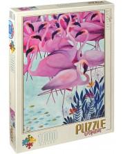 Puzzle D-Toys de 1000 piese – Flamingo, Andrea Kurti
