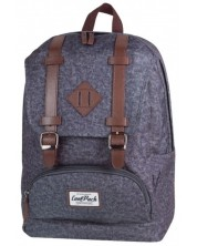 Ghiozdan scolar anatomic Cool Pack City - Grey