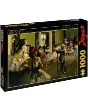 Puzzle D-Toys de 1000 piese – Lectie de dans, Edgar Dega