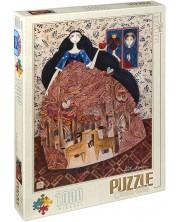 Puzzle D-Toys de 1000 piese – Alba ca Zapada, Andrea Kurti