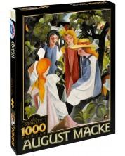 Puzzle D-Toys de 1000 piese - Patru fete, August Make