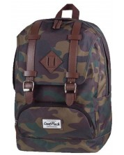 Ghiozdan scolar anatomic Cool Pack City - Camouflage -1