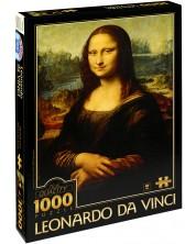 Puzzle D-Toys de 1000 piese – Mona Lisa, Leonardo da Vinci