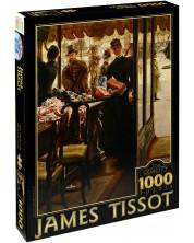 Puzzle D-Toys de 1000 piese – Fata in magazin, James Tissot