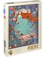 Puzzle D-Toys de 1000 piese – Frumoasa adormita, Andrea Kurti