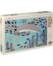 Puzzle D-Toys de 1000 piese – Delfin, Andrea Kurti