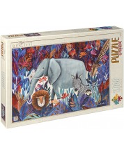 Puzzle D-Toys de 1000 piese – Elefant, Andrea Kurti