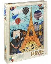 Puzzle D-Toys de 1000 piese – Paris, Andrea Kurti