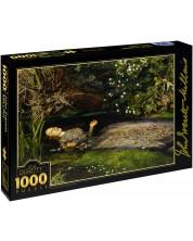 Puzzle D-Toys de 1000 piese – Ofelia, John Everett Mila