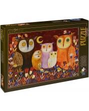Puzzle D-Toys de 1000 piese – Bufnite, Andrea Kurti I