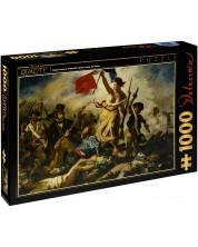 Puzzle D-Toys dе 1000 piese – Libertatea conducand poporul, Eugene Delacroix