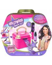 Set de infrumusetare pentru copii Cool Maker - Studio pentru suvite colorate Hollywood Hair -1