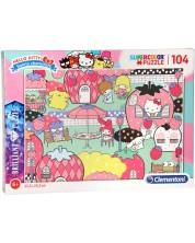 SuperColor Brilliant Puzzle Hello Kitty