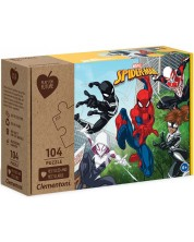 Puzzle Clementoni de 104 piese - Play For Future, Spiderman