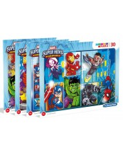 Puzzle Clementoni de 30 piese - Marvel Super Hero, sortiment
