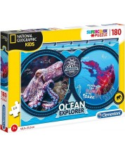 Puzzle Clementoni de 180 piese - National Geographic Ocean Expedition