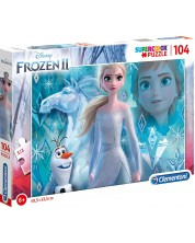 Puzzle Clementoni cu 104 piese - Frozen 2, Secretul
