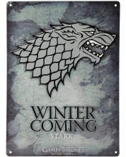 Poster metalic ABYstyle Television: Game of Thrones - Stark