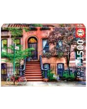 Puzzle Educa de 1500 de piese - Greenwich Village, New York