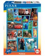 Puzzle Educa de 1000 de piese - Familia Disney si Pixar
