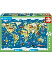 Puzzle Educa din 200 de piese - SOS satele copiilor