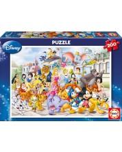 Puzzle Educa din 200 de piese - Parada Disney