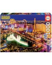 Puzzle neon Educa cu 1000 de piese - Las Vegas