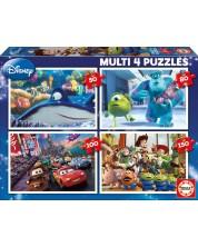 Puzzle Educa 4 in 1 - Pixar