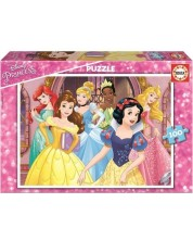 Puzzle Educa de 100 piese - Disney Princess