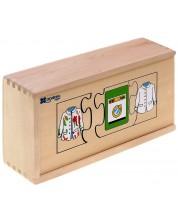Puzzle din lemn Andreu toys - Secvente -1