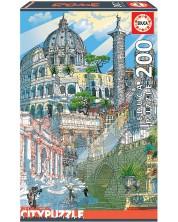 Puzzle cu patru dimensiuni Educa din 200 de piese - Roma
