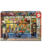 Puzzle Educa de 5000 piese - Greatest Book Shop in the World