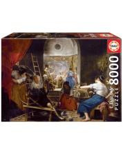 Puzzle Educa de 8000 piese - Classic Paint