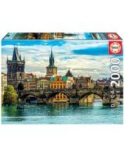 Puzzle Educa de 2000 piese - Views of Prague