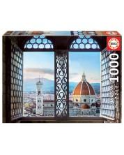 Puzzle Educa de 1000 piese - Vedere Florenta