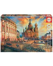 Puzzle Educa de 1500 piese - Saint Petersburg