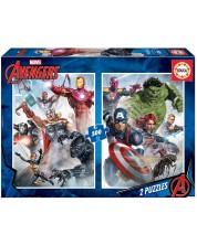 Puzzle Educa 2 x 500 de piese - The Avengers