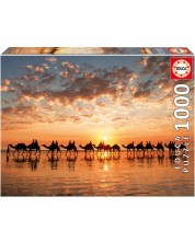 Puzzle Educa din 100 de piese - Sunset at Cable Beach