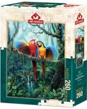 Puzzle Art Puzzle de 260 piese - Love In The Jungle