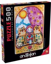 Puzzle Anatolian de 500 piese - Matryoshka