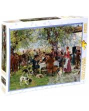 Puzzle Gold Puzzle de 1000 piese - The Huntsmen Lunch