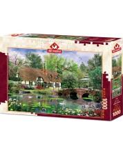 Puzzle Art Puzzle de 1000 piese - Water Lilies