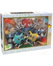 Puzzle Gold Puzzle de 1500 piese - Musical Graffiti