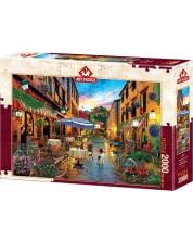 Puzzle Art Puzzle de 2000 piese - Biking Through Italy, David M.