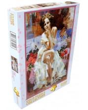 Puzzle Gold Puzzle de 1500 piese - Roses