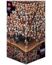 Puzzle Heye de 2000 piese - Orchestra, Jean-Jacques Loup