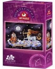 Puzzle Art Puzzle de 100 de piese - Semnul zodiacal Sagetator